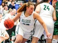 Clearfield vs Hillcrest - Girls Basketball - UHSAA 6A 1st Round - 2/20/2018